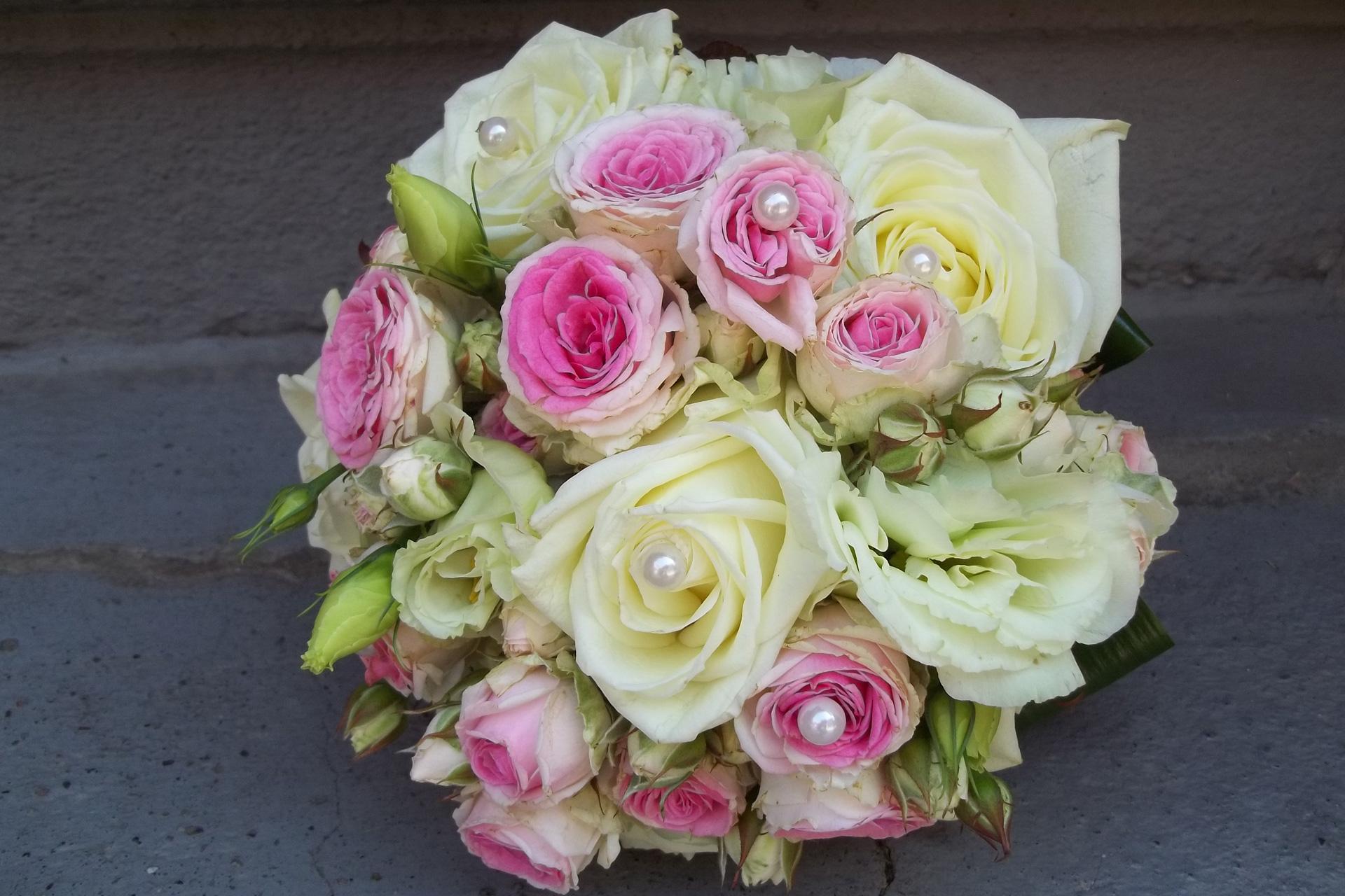 Brautstrauß aus dem Blumenladen Blumenwiese in Eisenach